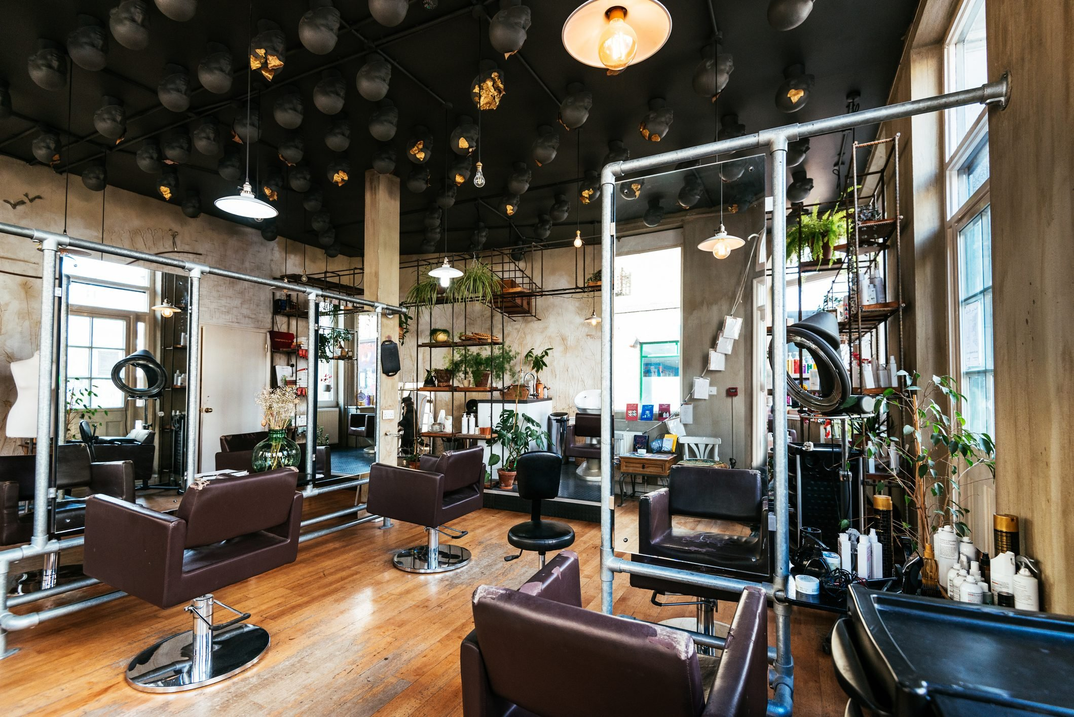 Beauty Salons and Spas